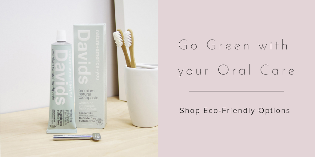 Eco Friendly bathroom - Oral Care - David's toothpaste