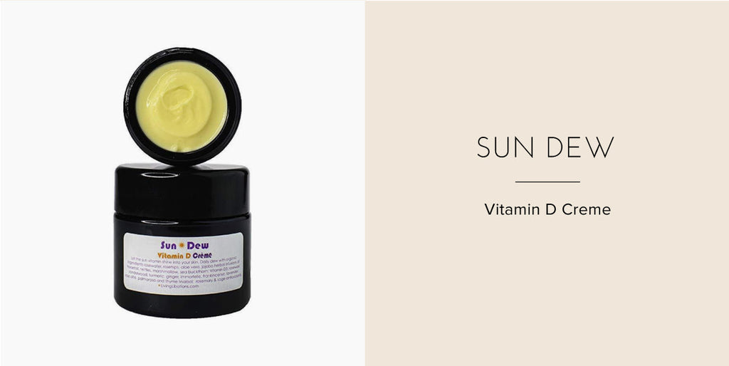 Living Libations Sun Dew Vitamin D Cream - Health Hut