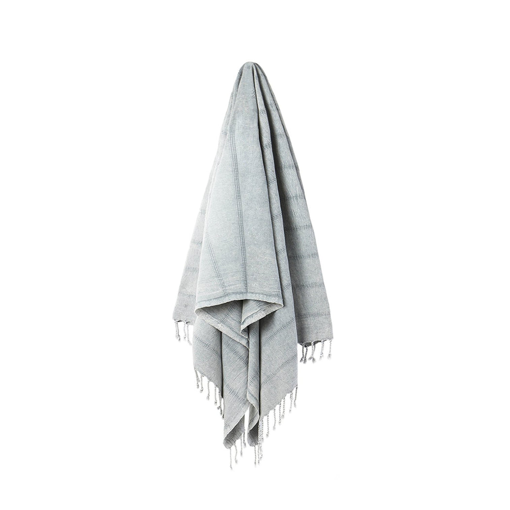Stray and Wander Turkish Towel - Brook