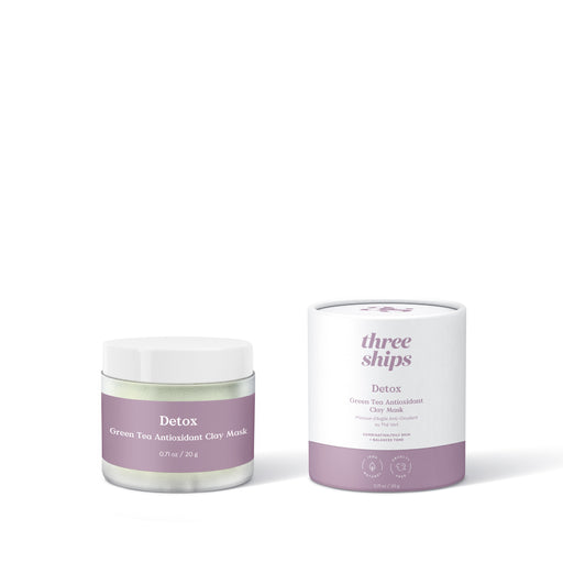 Three Ships - Mask - Detox Green Clay