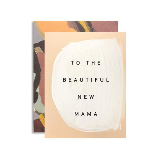 Moglea Greeting Cards - New Mama
