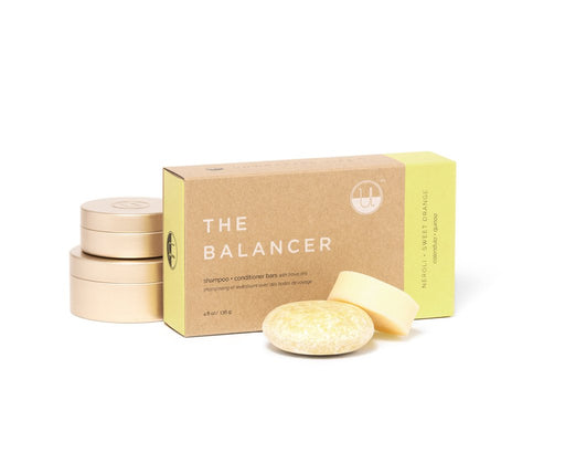 Unwrapped Life - The Balancer Shampoo & Conditioner Bar Set