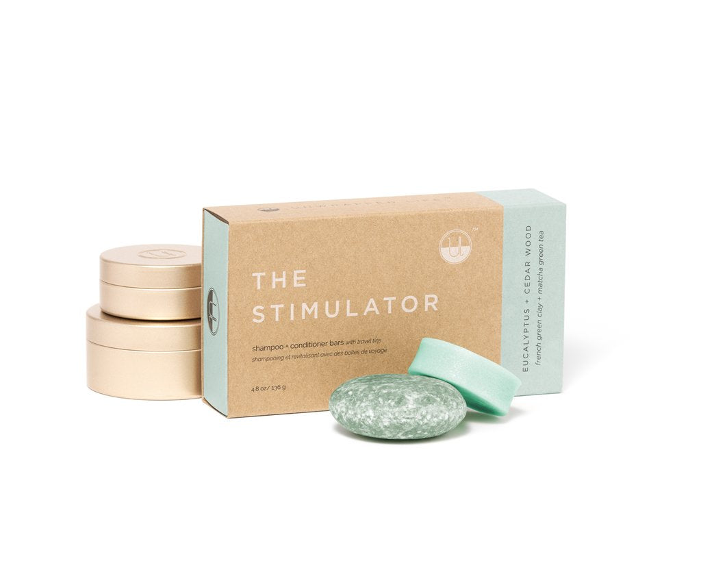 Unwrapped Life - The Stimulator Shampoo & Conditioner Bar Set