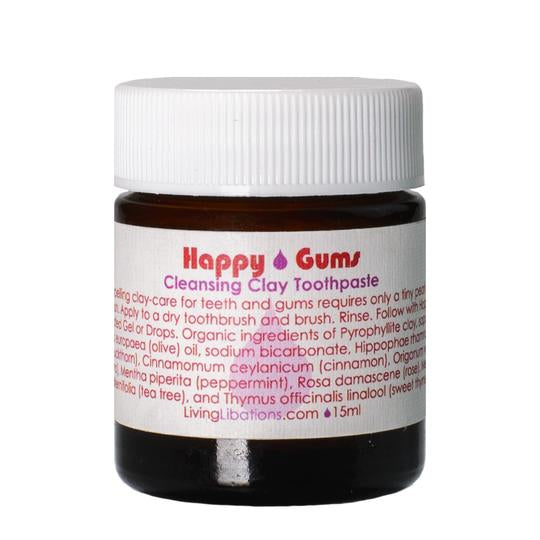 Living Libations Happy Gums Toothpaste