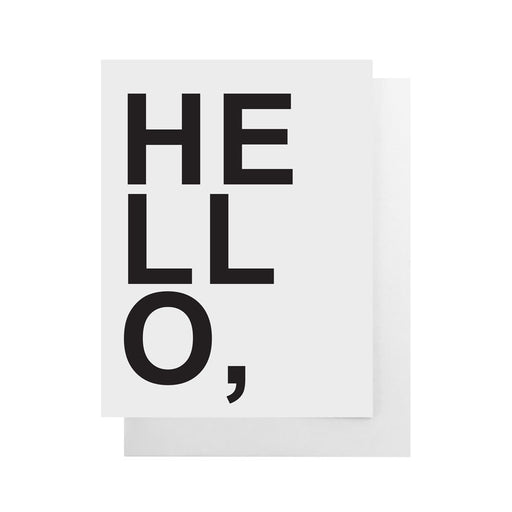 Health Hut Toronto - Cult Paper - Hello* Card