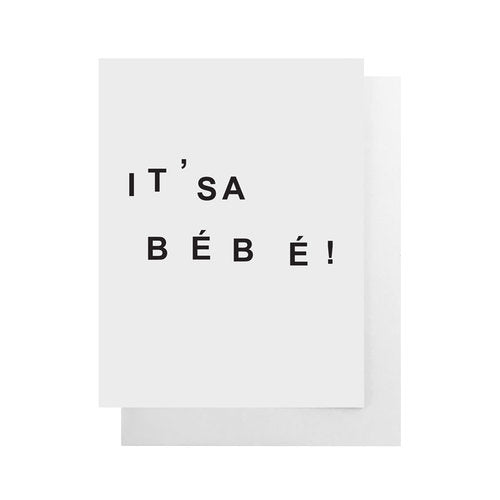 Cult Paper - It's A Bebe Card