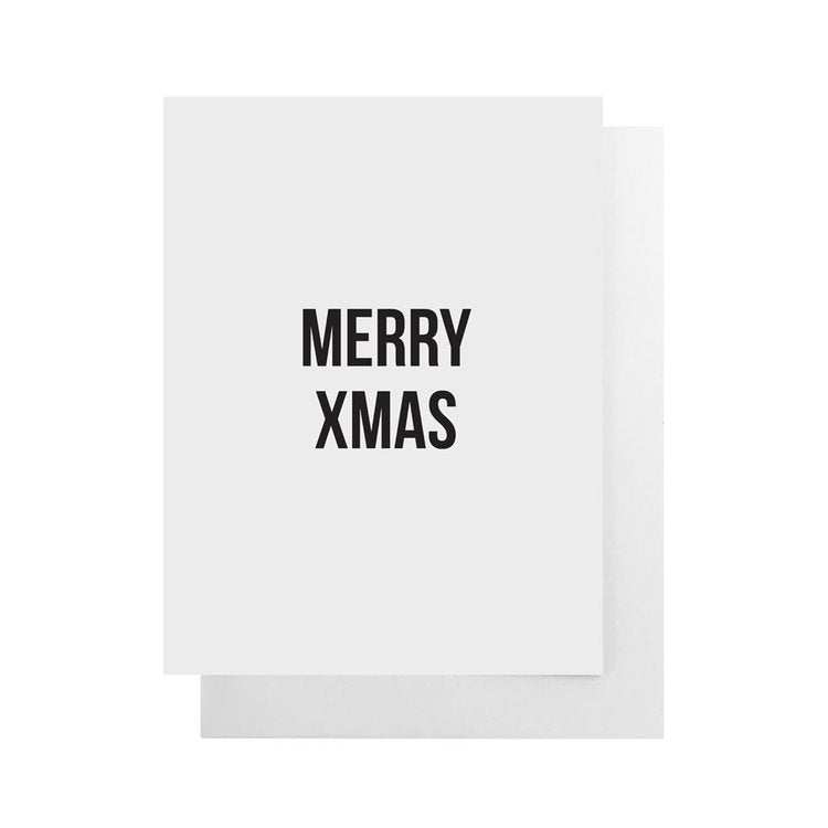 Cult Paper - Merry Xmas Card