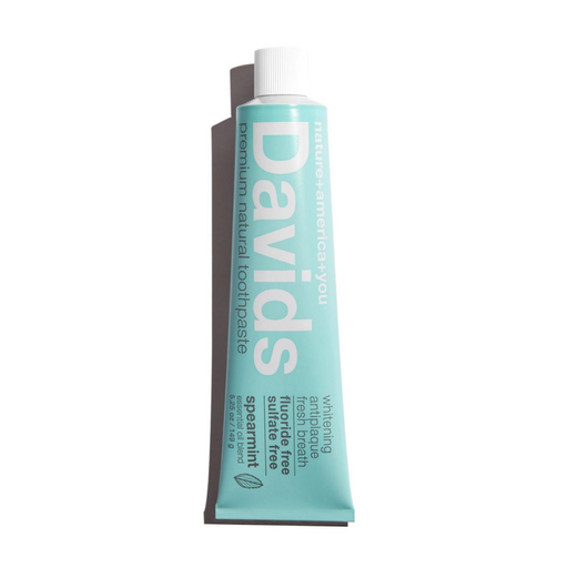 Health Hut Toronto - Davids -Premium Natural Toothpaste - Spearmint