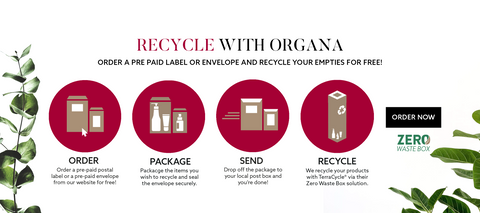 recycle and sustainable beauty