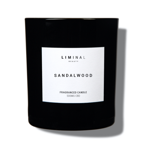 CBD candle for stress and wellbeing