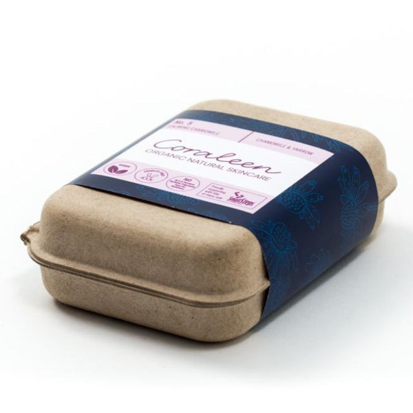 CALMING CHAMOMILE Chamomile and Yarrow Soap Bar