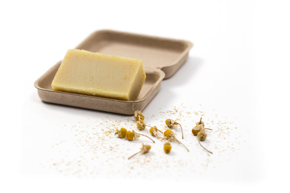 AS NATURE INTENDED TWIN BOX Chamomile, Yarrow and Nettle and Chervil Soap Bars