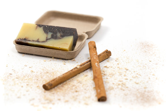 THE ESSENTIAL MIX Selection of 4 Essential Oil Soap Bars