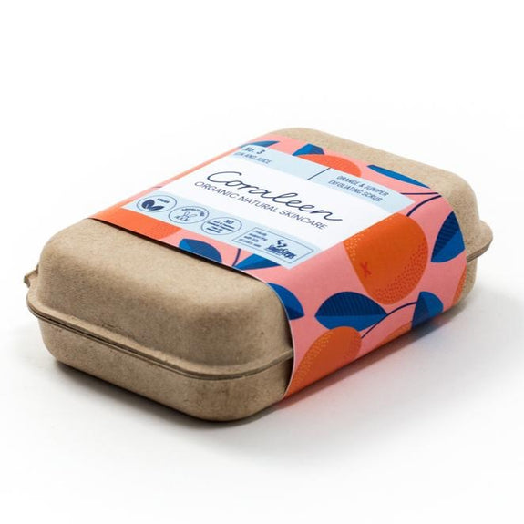 GIN & JUICE Orange & Juniper Exfoliating Soap Bar