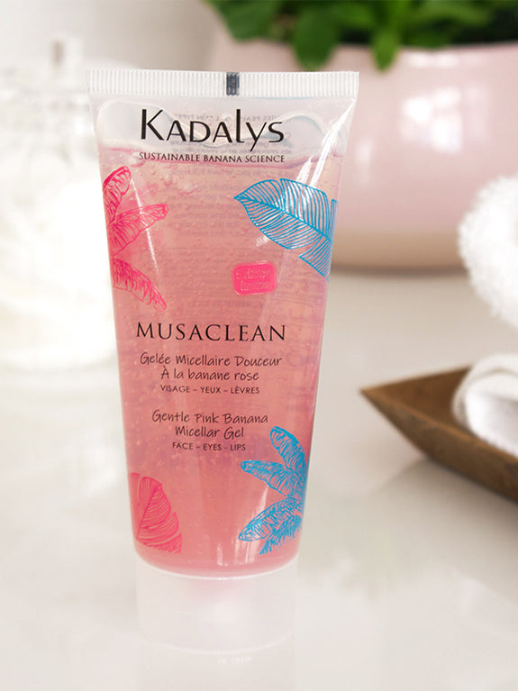 Musaclean Gentle Pink Banana Micellar Gel Limited Edition