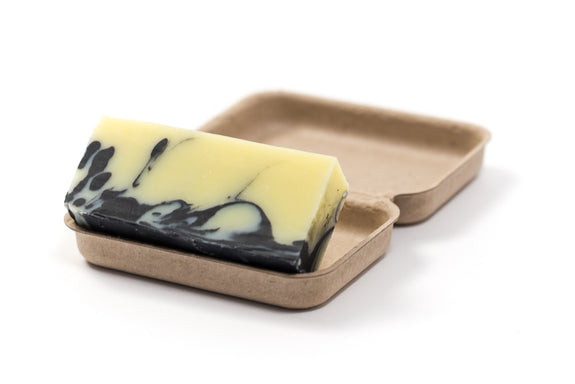MINTY FRESH  Peppermint, Lemon & Activated Charcoal Soap Bar
