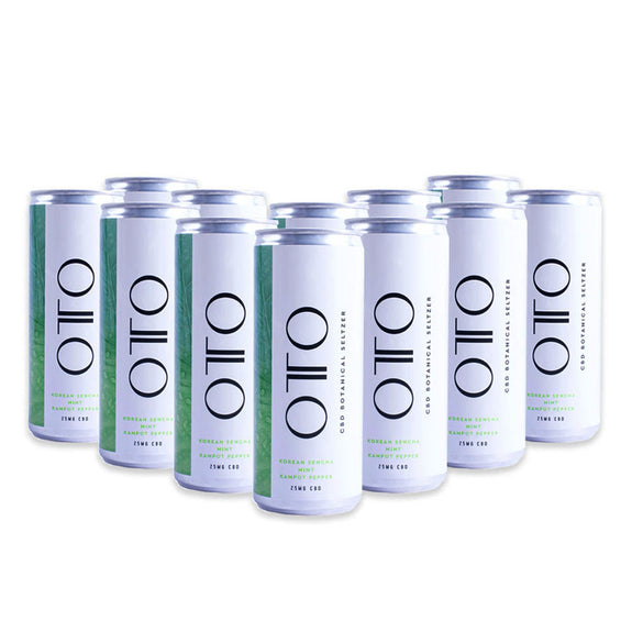 Focus CBD Botanical Seltzer 12-pack