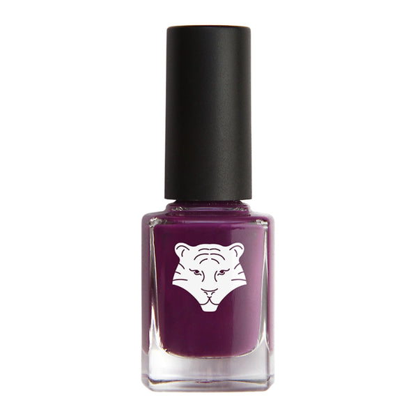 All Tigers Natural & Vegan Nail Lacquer: 299 Purple