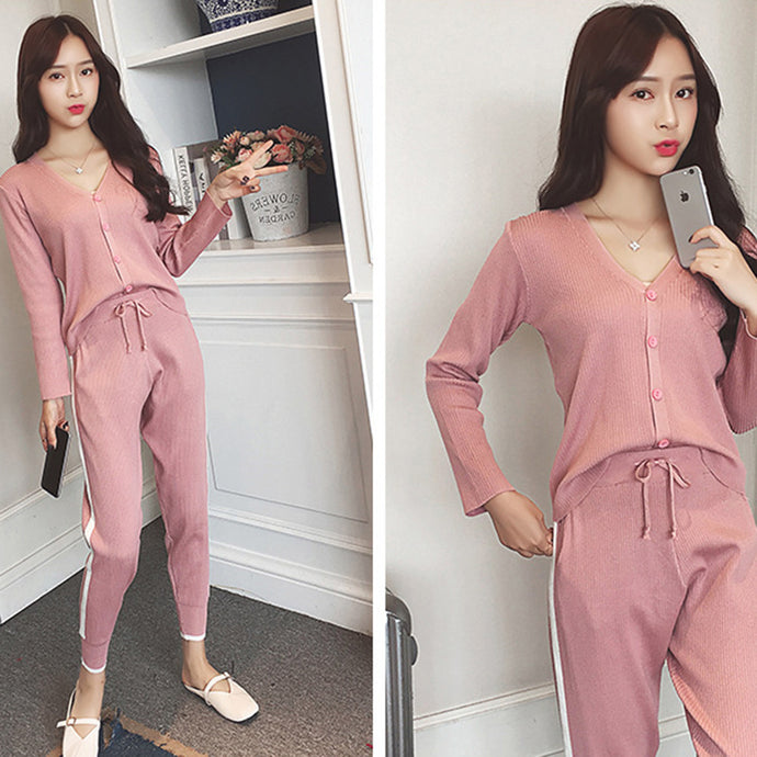 Casual Sports Tracksuit Free Size - Shoppingsportorg