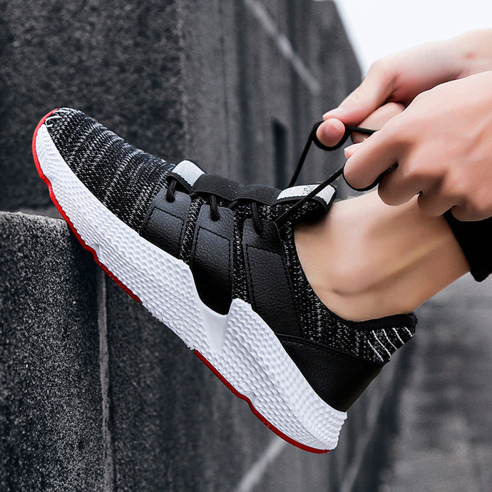 Men Fashion Cross Strap Gym Shoes - Shoppingsportorg