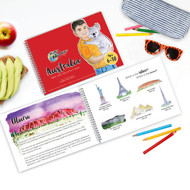 Australia Travel Diary and Activity Book (6-10) - My Big Adventure