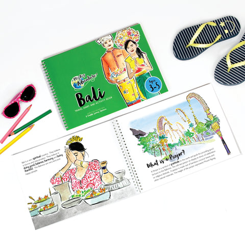 [Educational Travel Diaries & Activity Books For Kids Online] - My Big Adventure