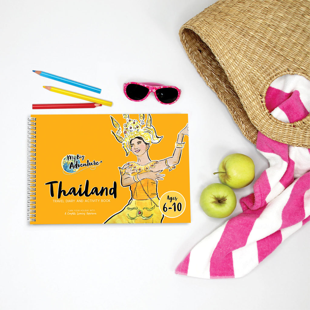 Thailand Travel Diary and Activity Book - (6 - 10) - My Big Adventure