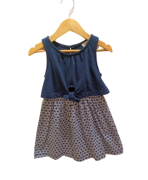 Blue Party Wear Frock for Girl