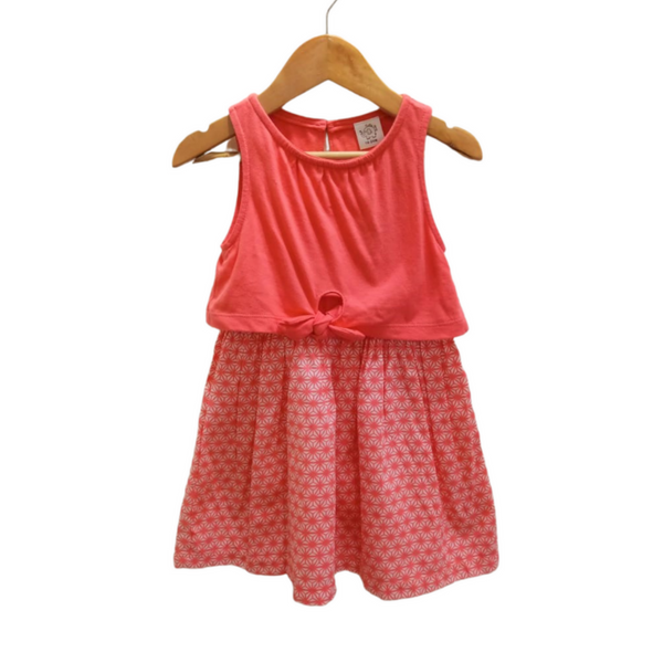 Pink Party Wear Frock for Girl