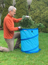 Grampa's Garden Bag - 30 Gallon Hardshell Bottom Reusable Garden Waste bag - Collapsible Garden Leaf & Yard Bag
