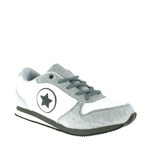 Grey Jersey Star Design Daddy Trainers