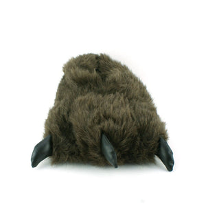 Animal Brown Claw Design Novelty Warm Indoor Snug Slippers