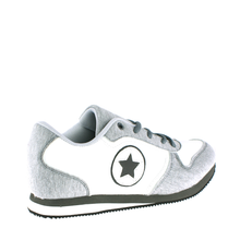 Load image into Gallery viewer, Grey Jersey Star Design Daddy Trainers