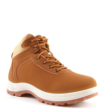Load image into Gallery viewer, Mens Honey Tan Hiking Ankle Lace Up Boots