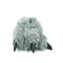 Load image into Gallery viewer, Animal Grey Claw Design Novelty Warm Indoor Snug Slippers
