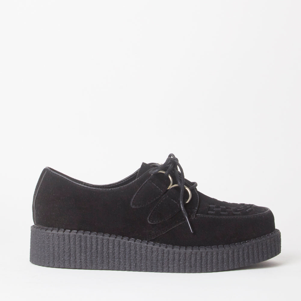 Avril Black Creeper Platforms