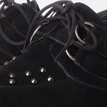 Load image into Gallery viewer, Avril Black Stud Creeper Platforms