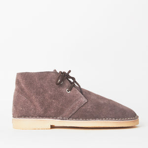 Edie Brown Faux Suede Desert Boots