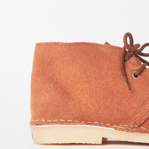 Edie Tan Faux Suede Desert Boots