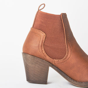 Izzy Tan Ankle Boot