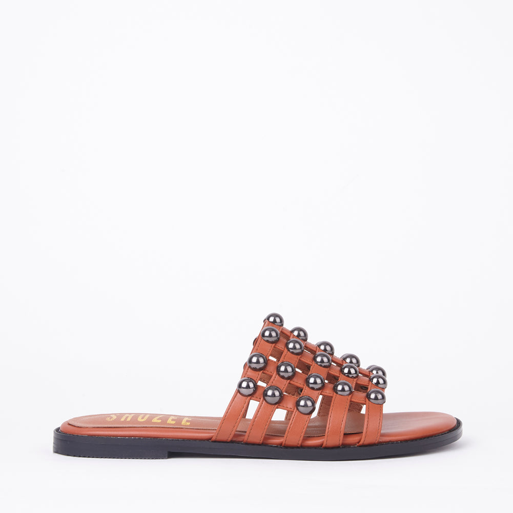 Josie Tan Studded Cage Slider