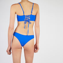 Load image into Gallery viewer, Lucia Blue Square Neck Bikini Set