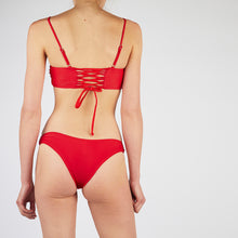 Load image into Gallery viewer, Lucia Red Square Neck Bikini Set