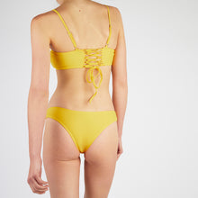 Load image into Gallery viewer, Lucia Yellow Square Neck Bikini Set