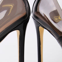 Load image into Gallery viewer, Maye Smoke Perspex Court Heels
