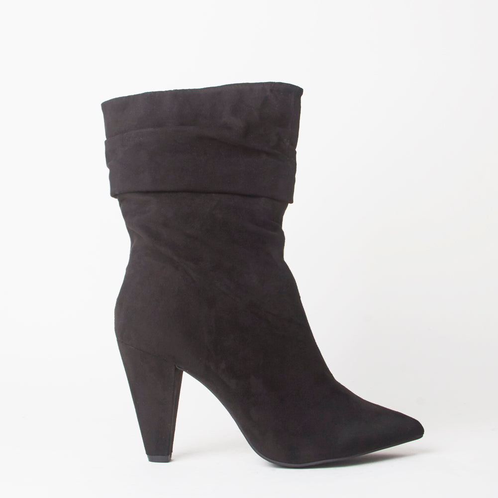 Penny Black Ruffle Boots