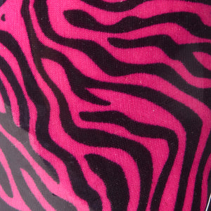 Poppy Zebra Print Pink Wellies