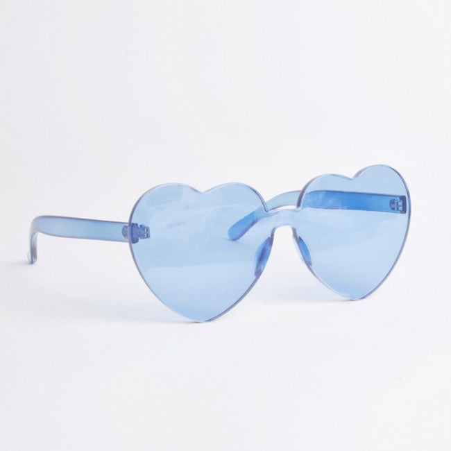 Atlanta Blue Heart Sunglasses