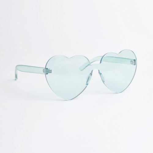Atlanta Green Heart Sunglasses