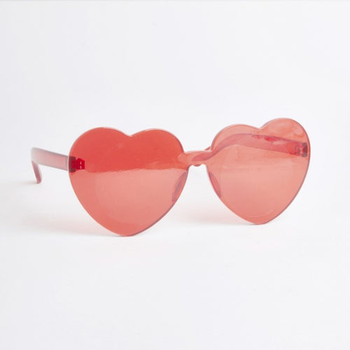 Atlanta Red Heart Sunglasses